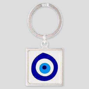 Evil Eye Magic Square Keychain