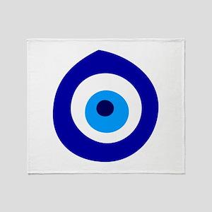 Evil Eye Magic Throw Blanket