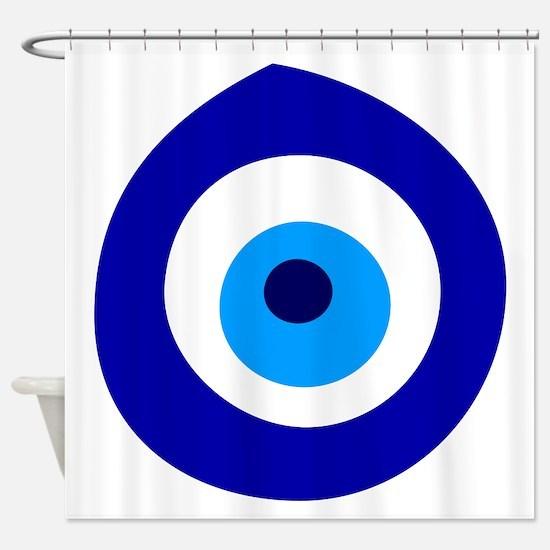 Evil Eye Magic Shower Curtain