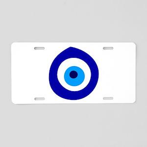 Evil Eye Magic Aluminum License Plate