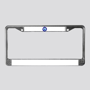 Evil Eye Magic License Plate Frame