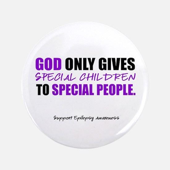 "God Only Gives (Epilepsy Awareness) 3.5"" Butt"