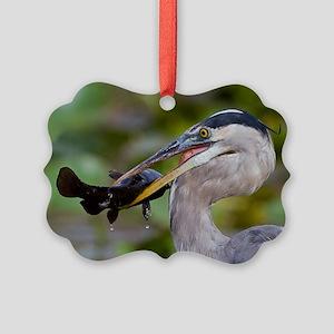 Blue Catfish Picture Ornament