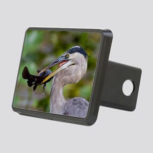 Blue Catfish Rectangular Hitch Cover