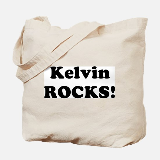 Kelvin Rocks! Tote Bag
