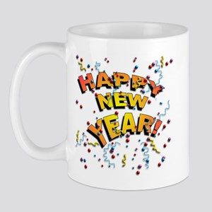 Confetti New Years Eve Mug