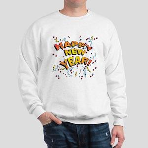 Confetti New Years Eve Sweatshirt