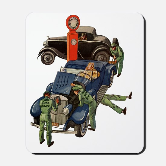 Vintage Mechanics Mousepad