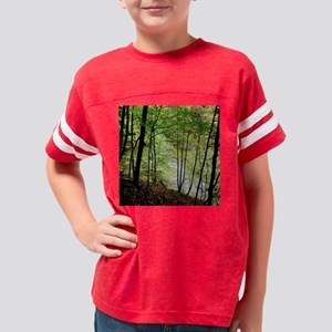 Silhouetted Trees Youth Football Shirt