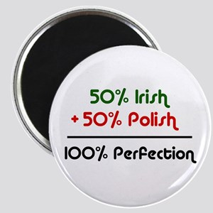 Irish & Polish Magnet