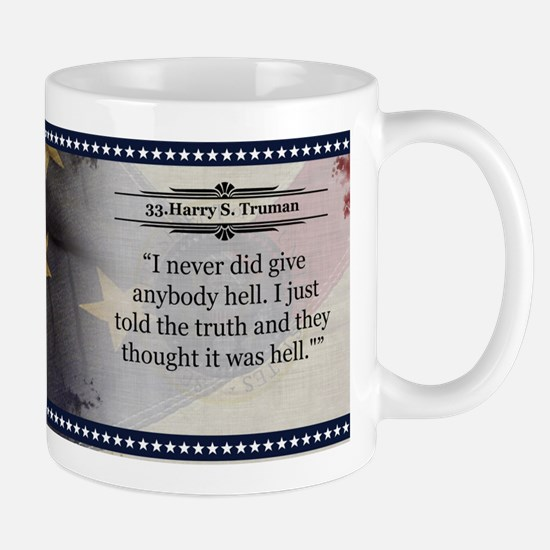 Harry S. Truman Historical Mugs