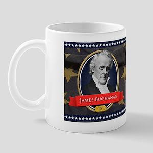 James Buchanan Historical Mugs