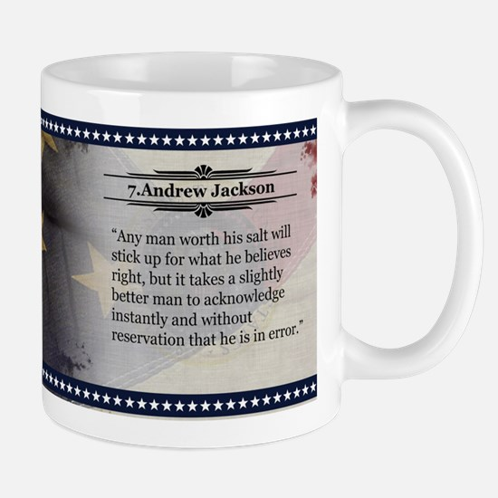 Andrew Jackson Historical Mugs