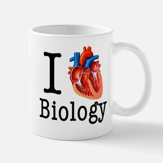 I love Biology Mug