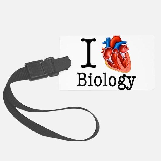 I love Biology Luggage Tag