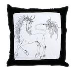 Unicornis! Throw Pillow