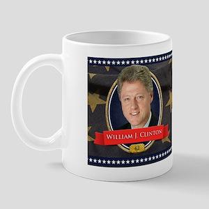 William J. Clinton Historical Mugs