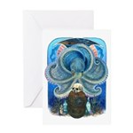 Sea Witch Greeting Cards