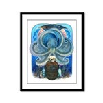 Sea Witch Framed Panel Print