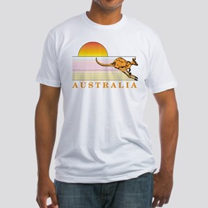 Aussie Sunset Fitted T-Shirt