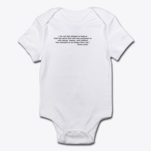 Forego their use Infant Bodysuit