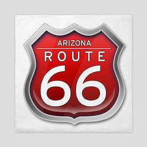 Arizona Route 66 - Red Queen Duvet