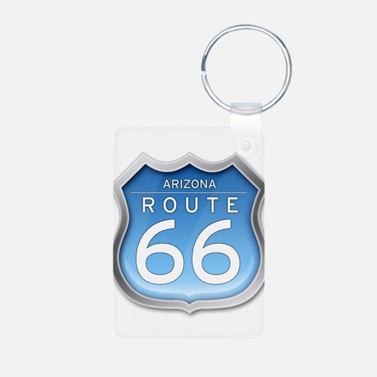 Arizona Route 66 - Blue Keychains