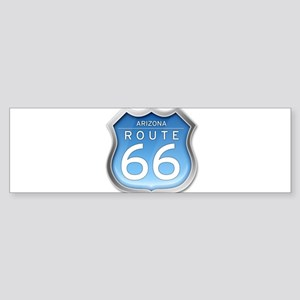 Arizona Route 66 - Blue Bumper Sticker