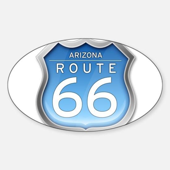 Arizona Route 66 - Blue Decal