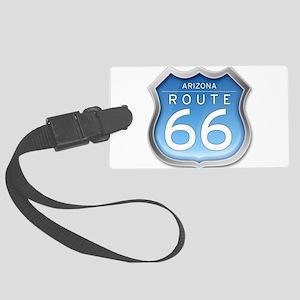 Arizona Route 66 - Blue Luggage Tag