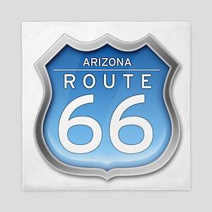 Arizona Route 66 - Blue Queen Duvet