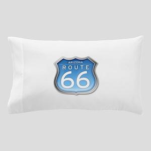 Arizona Route 66 - Blue Pillow Case
