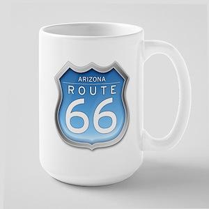 Arizona Route 66 - Blue Mugs