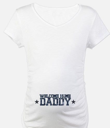 Welcome Home NAVY Daddy Shirt