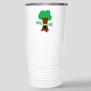 Hug Me (Treehugger) Stainless Steel Travel Mug