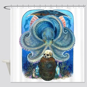 Sea Witch Shower Curtain