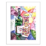 Wine and Candy Small Poster