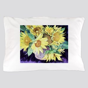 Sunflower Personalities Pillow Case
