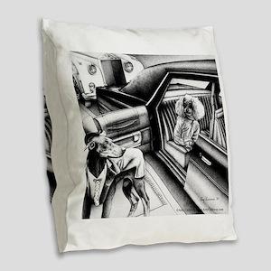 Premier Night Burlap Throw Pillow