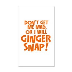 Ginger Snap Wall Decal