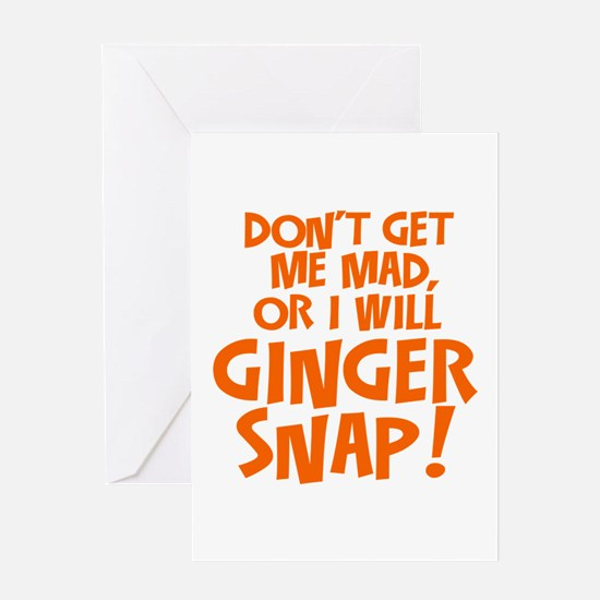 Ginger Snap Greeting Cards