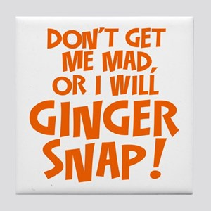 Ginger Snap Tile Coaster