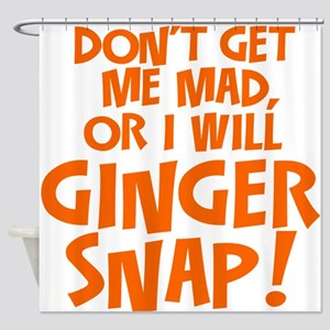 Ginger Snap Shower Curtain
