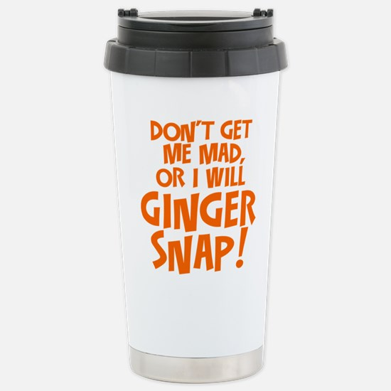Ginger Snap Travel Mug