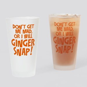 Ginger Snap Drinking Glass