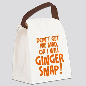 Ginger Snap Canvas Lunch Bag