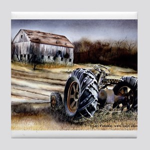 Old Tractor Tile Coaster