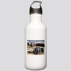 Old Tractor Stainless Water Bottle 1.0L