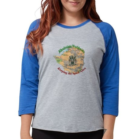 rhmap1a copy Womens Baseball Tee