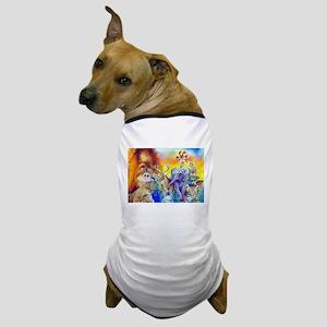 Animal Collage Dog T-Shirt